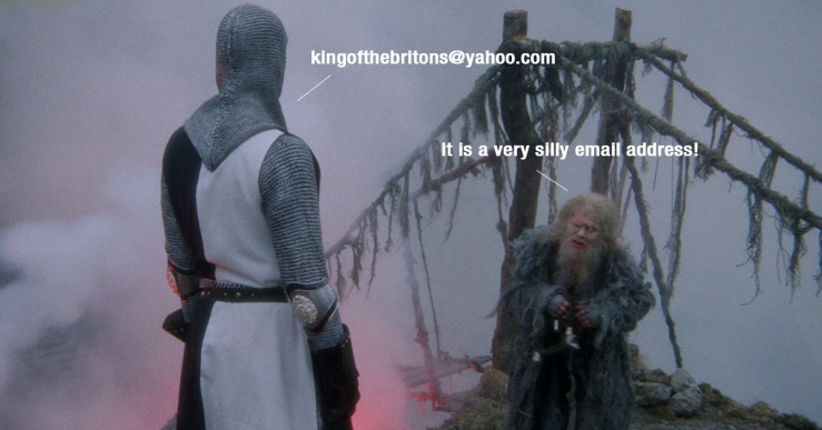 Monty Python - Very Silly Email Address - Paul O'Flaherty