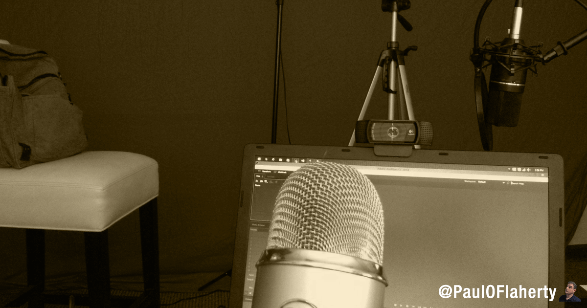 Podcasting and Soaccial Proof - Paul OFlaherty