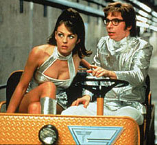 Liz Hurley in Austin Powers