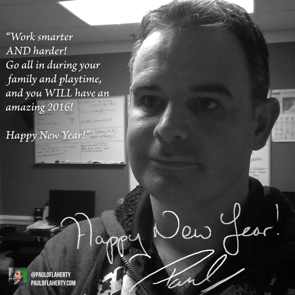 Happy New Year from Paul O'Flaherty
